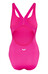 arena Malteks LB Swimsuit Women fresia rose/metallic silver